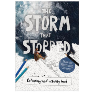The Storm That Stopped Colouring Activity Book